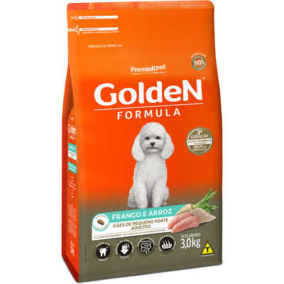 Golden Adultos Mini Bits Frango e Arroz 3kg   (Cód. 641)