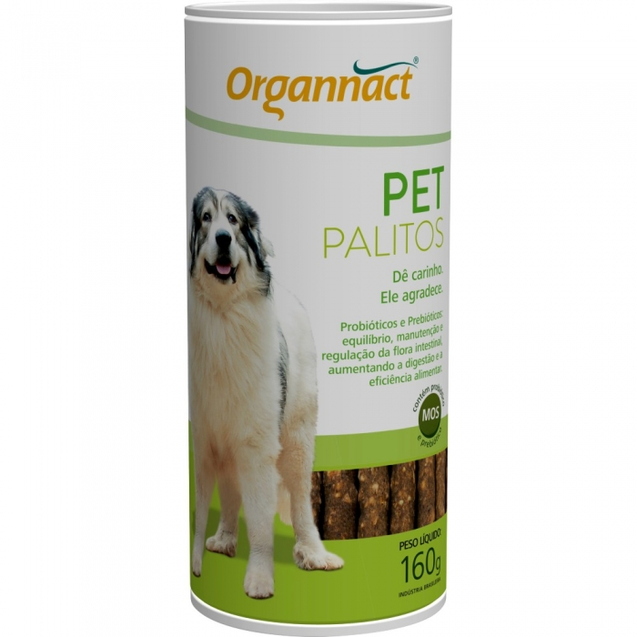 Organnact Pet Palitos 160g