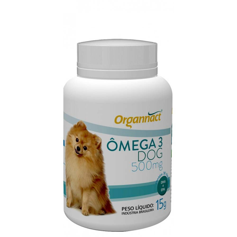 Ômega 3 Dog 500mg - 15g