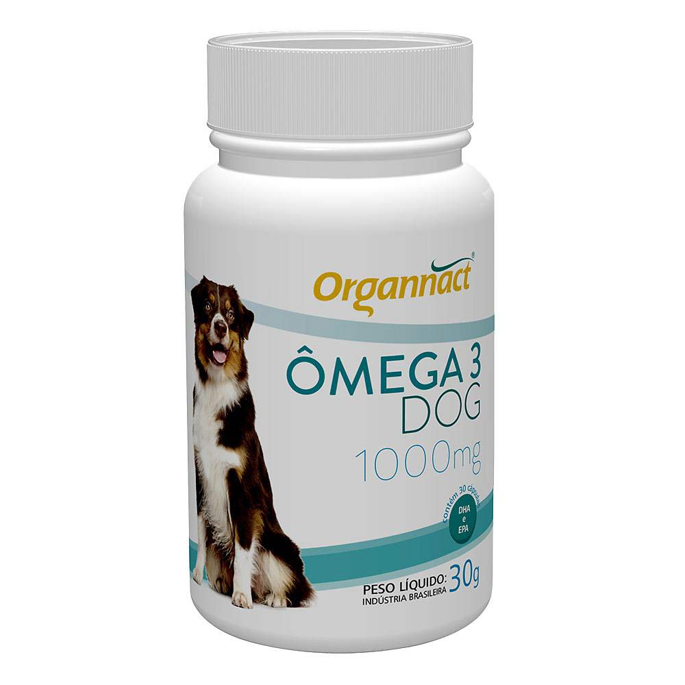 Ômega 3 Dog 1000mg - 30g