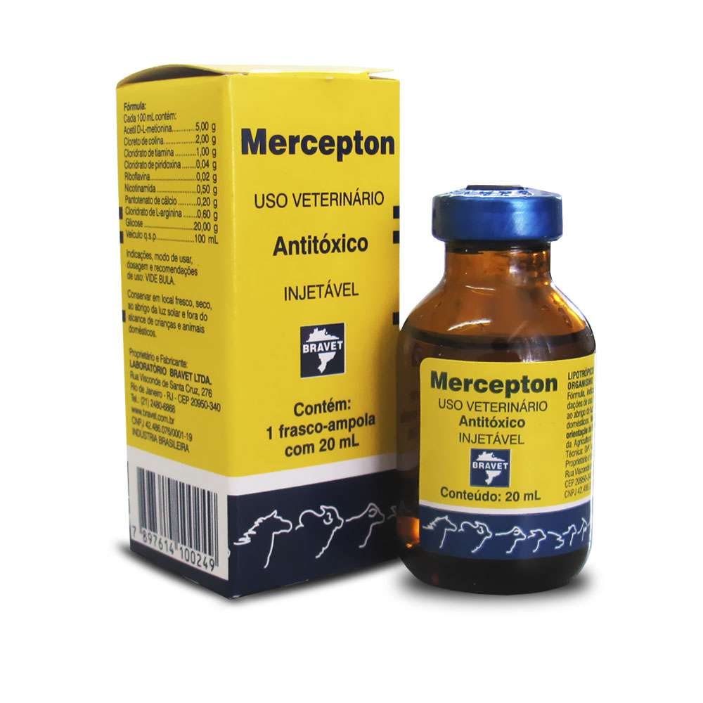 Mercepton Injetável - 20ml