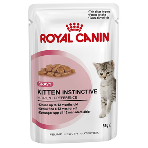 Royal Canin Sachê Kitten Instinctive Feline - 85g