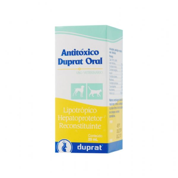 Antitóxico Duprat Oral - 20ml