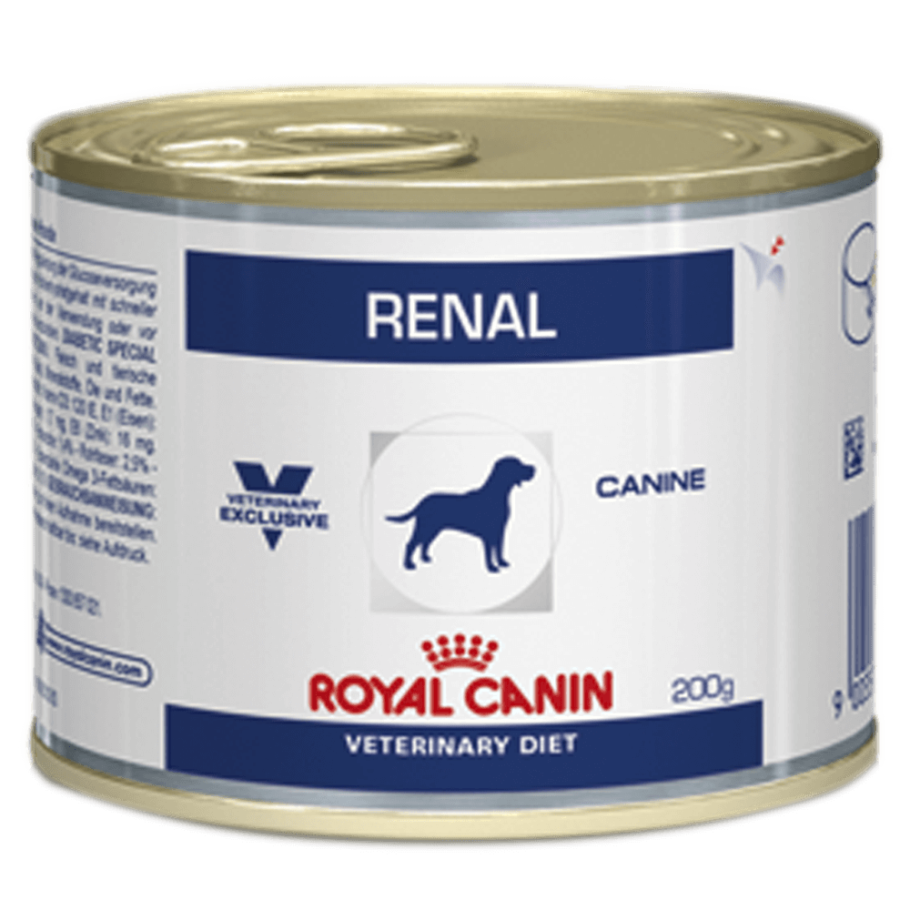 Ração Royal Canin Lata Canine Veterinary Diet Renal - 200 g Royal Canin