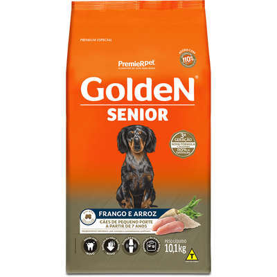 Golden Senior Mini Bits Frango e Arroz 10,1kg    (Cód. 8297)