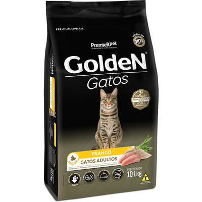 Golden Gatos Adultos Frango 10,1kg   (Cód. 1101)