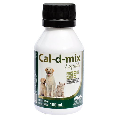 Cal-d-mix Líquido - 100ml